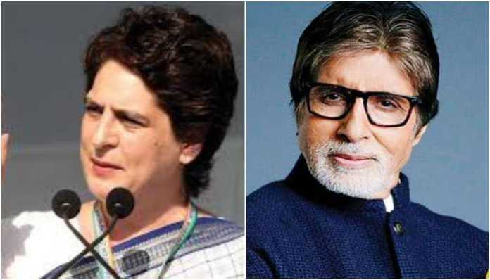Priyanka Gandhi tries to mock PM Modi, cites Amitabh Bachchan's name and scores a self goal