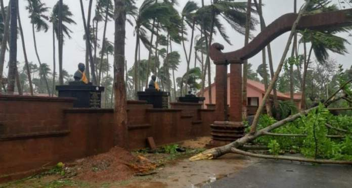 Raghurajpur, famous for its Pattachitras, has been devastated by Cyclone Fani