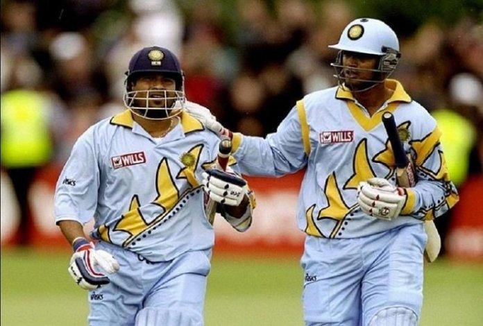 Sachin Tendulkar and Rahul Dravid in 1999 World Cup
