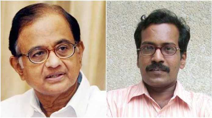 Journalist J Gopikrishnan had complained against Mr and Mrs Chidambaram using their 'Sr Advocate' title while facing trial for financial irregularities and scams