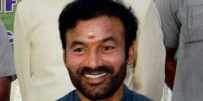 G Kishan Reddy says Hyderabad has become a terror haven