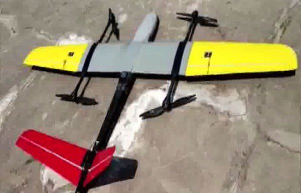 drone used to deliver blood sample in Uttarakhand