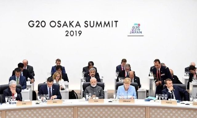 PM Modi met and discussed with global leaders under the G20 summit in Osaka, Japan