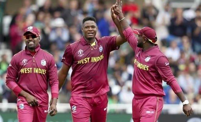 West Indies vs Pakistan World Cup match