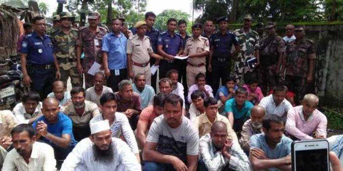 Convicted Bangladeshi nationals deported back to Bangladesh today
