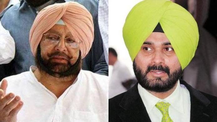 Capt Amarinder Singh accepts Navjot Singh Sidhu's resignation
