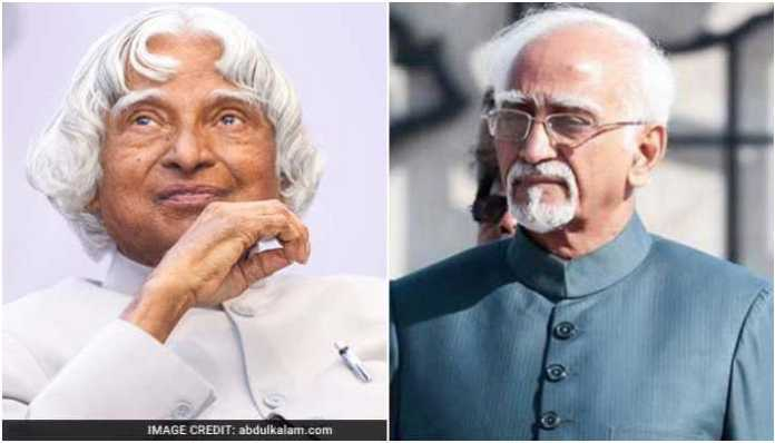 The Wire journalist asks the difference between Dr Kalam and Hamid Ansari, Twitter answers in kind