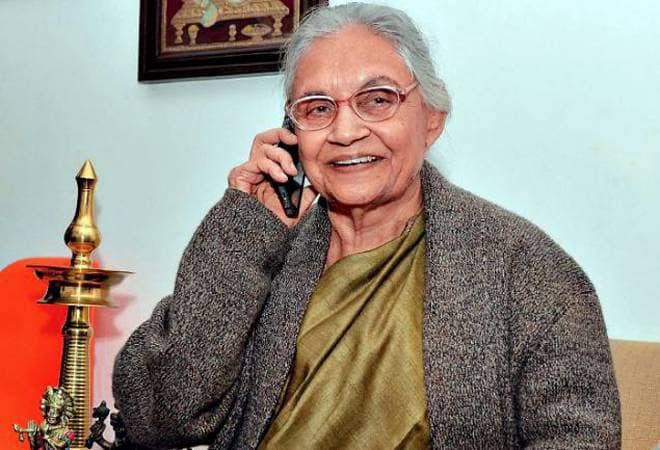 Sheila Dixit passed away