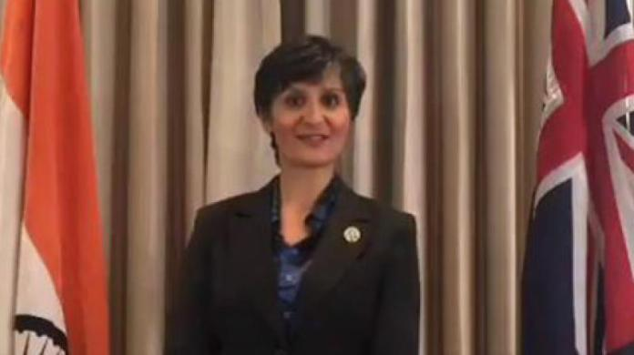 Australian envoy to India asserted her country's support to India's stand on Kashmir