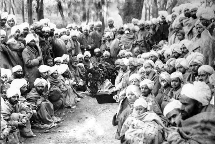 Kashmiri Pandits in a gathering