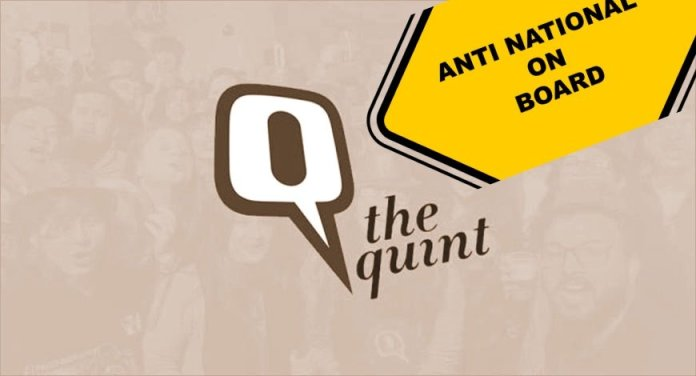 The Quint uses Khalistanis, Leftists and Urban Naxals to show Punjab upset over abrogation of Article 370