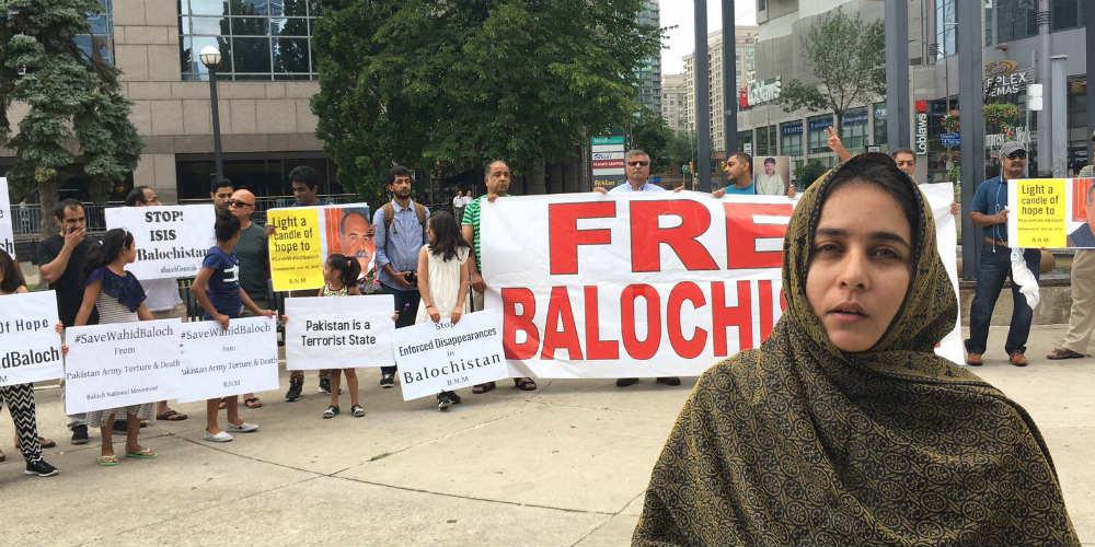 Jai Hind', 'Bharat Mata Ki Jai': Baloch activists seek India's ...