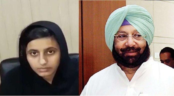 Capt Amaninder Singh supports Pak Sikh girl