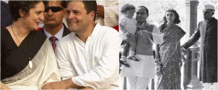 Rahul and Priyanka maintain a cold silence on their grandfather, Feroze Gandhi