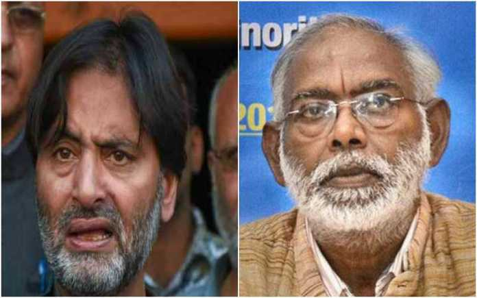 'Human Rights activist' Jahn Dayal refuses to call Yasin Malik a murderer, says will agree only when the courts find him guilty of murder
