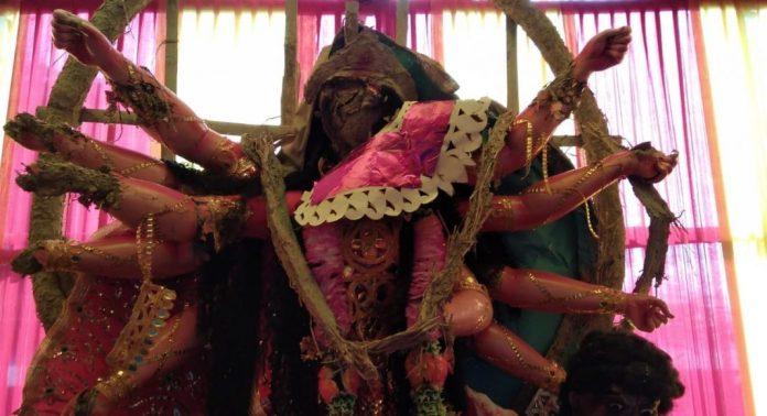 Durga idols of Doimukh puja pandal vandalised in Arunachal Pradesh