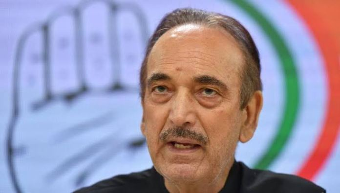 Ghulam Nabi Azad vacated his bungalow ahead of transition in JK