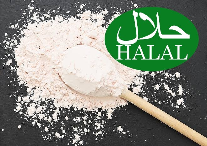 What does Halal certification for vegetarian products mean