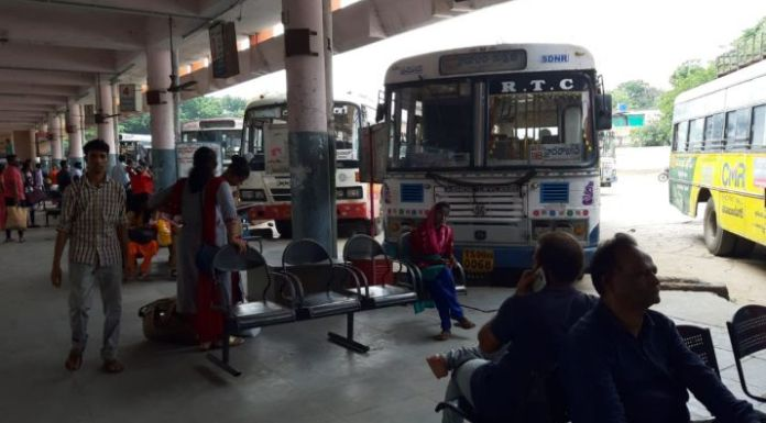 Telangana RTC strike enters its 8th day today, On Sunday, the government had announced the dismissal of the 48,000 employees