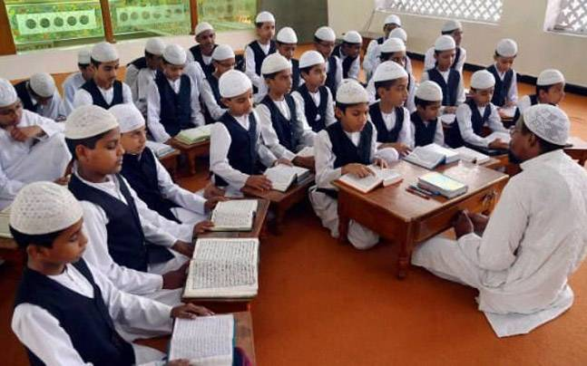 A ten-year-old boy was attacked inside a Madarsa in UP's Gajraula