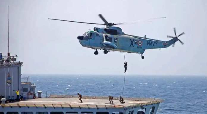 Indian Navy shortlists 4 Indian manufacturers for 25,000 crores Naval Utility Chopper deal