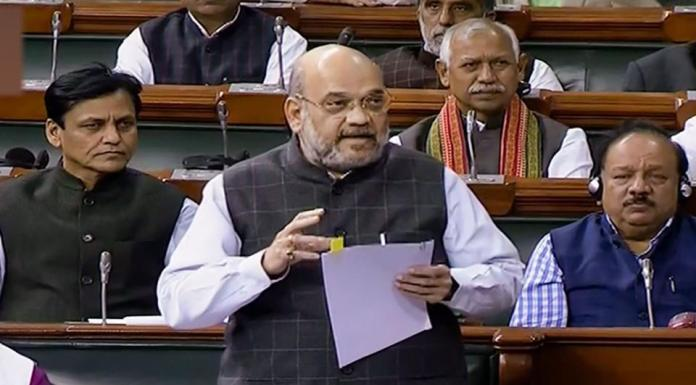 Amit Shah launches a scathing attack on the Congress leaders opposing the SPG Amendment Bill