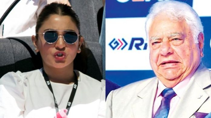 Farokh Engineer has claimed now that comment about BCCI selectors serving tea to Anushka Sharma was made as a joke