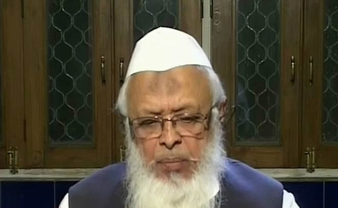 Jamiat Ulama-i-Hind chief and principal of Darul Uloom Deoband Arshad Madani favours Taliban