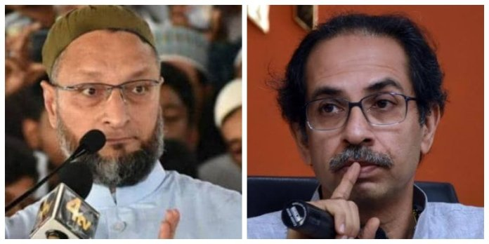 Owaisi calls Sena's flip flop on CAB as Bhangra politics