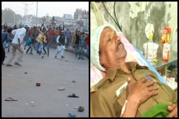 Muslim mob gathered at Dargah and started stone pelting after Namaz: Cops injured during Ahmedabad anti-CAA riots