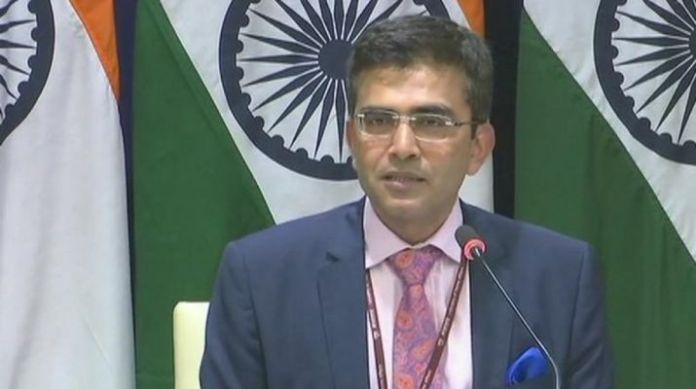 MEA has stated that the government's statement over religious persecution was about the incidents that had happened during previous regime and relationships with the current regime are strong as ever