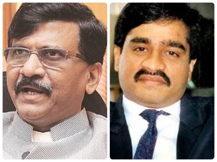 Sanjay Raut claimed in an award function held in Pune that he met Dawood Ibrahim many times over