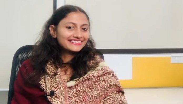 DU student Deepikia Sharma