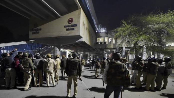 Ameer Hamza Khan was arrested by CISF personnel at Jamia Milia Islamia Metro Station for allegedly carrying a pistol and five live rounds