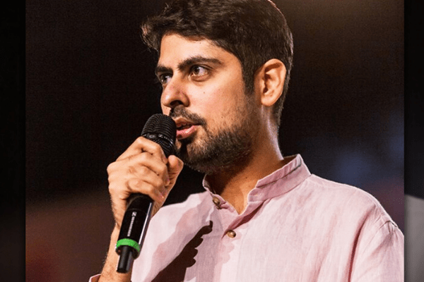 Varun Grover is willing to show his documents in the United States but not in India