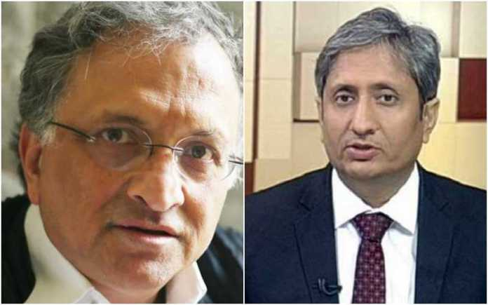 Ram Guha says Ravish Kumar better suited to defeat PM Modi that Rahul Gandhi