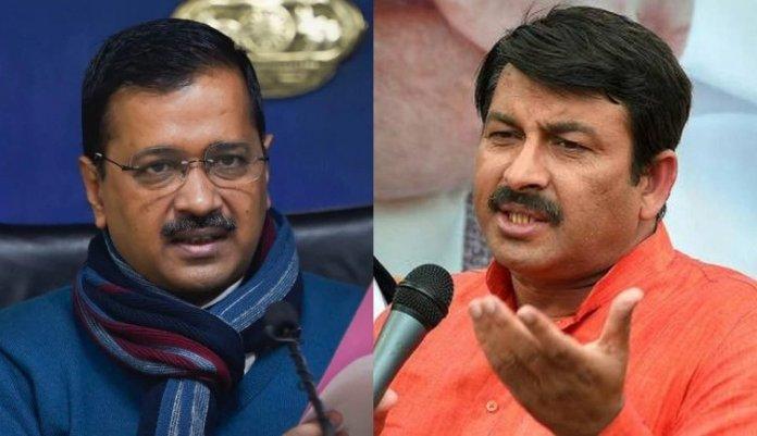 AAP vs BJP in Delhi