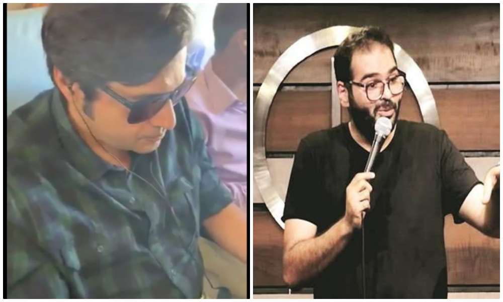 'Comedian' Kunal Kamra tries to heckle Arnab Goswami again on return GoAir flight, later gets banned from that airline too