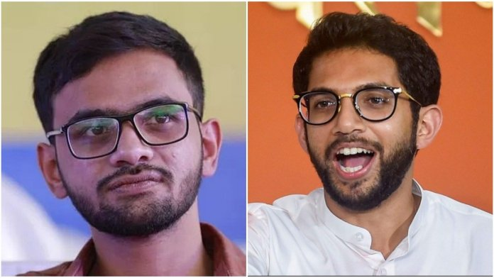 Umar Khalid mocks Aaditya Thackeray, says he will not share a stage with him