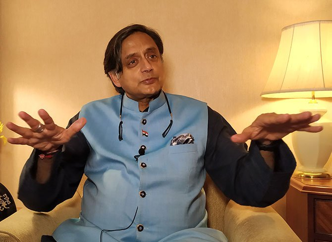 Tharoor supports Sandeep Dikshit's statement, says party needs to elect new leader