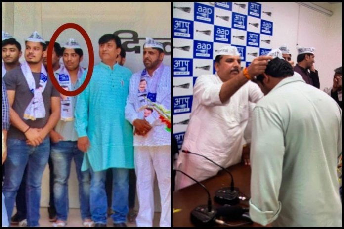 Pictures emerge of Shaheen Bagh shooter Kapil Gujjar being AAP leader, admits to crime branch of having political ambitions: Read details