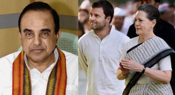 Subramanian Swamy Rahul Gandhi Sonia Gandhi citizenship 20022020
