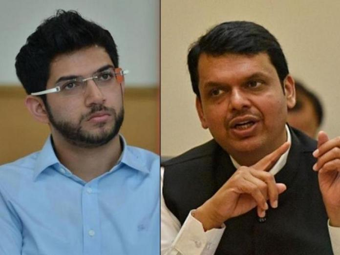 A war of words sparked between Aaditya Thackeray and BJP over Devendra Fadnavis' bangles comment