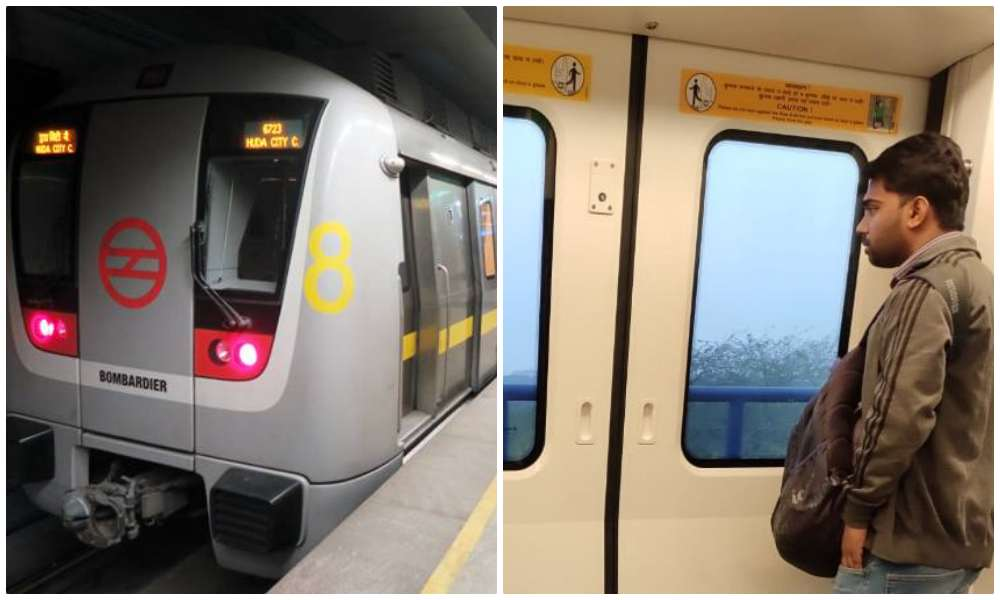 28-year-old Gurugram man who flashed his genitals at woman in Delhi metro arrested - Opindia News