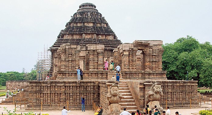 A controversy surrounding the restoration of Konark Temple erupted on Twitter after a user claimed that ASI is destroying the temple on the pretext of restoration