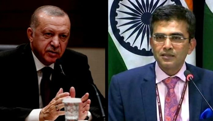 Turkey rakes up Kashmir issue yet again, gets slammed by India