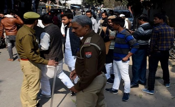 UP police have arrested 19 persons in Azamgarh over secessionist slogans and rioting