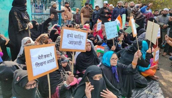 Shaheen Bagh protestors fear