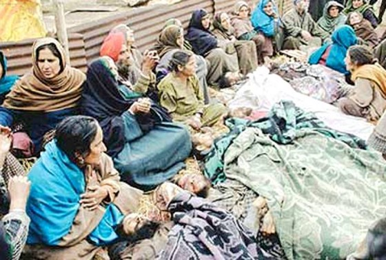 36 Sikh men were killed in Jammu and Kashmir's Chittisinghpura ahead if the then US president Bill Clinton's visit to India
