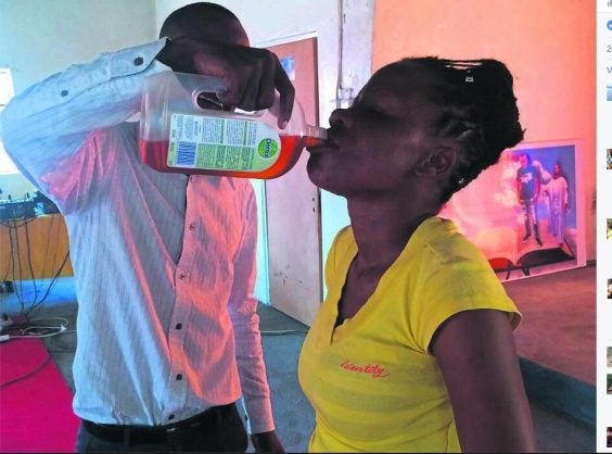 South African pastor Rufus Phala allegedly made his congregants drink Dettol to protect them from coronavirus